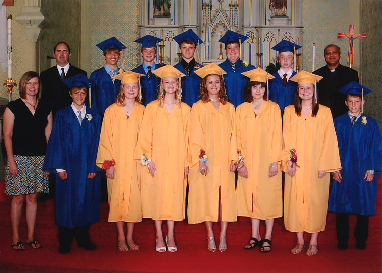 Saints Peter and Paul Class of 2012